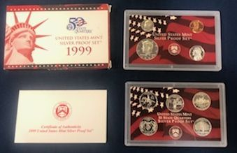 1999 Silver Proof Sets
