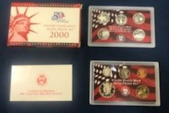 2000 Silver Proof Sets