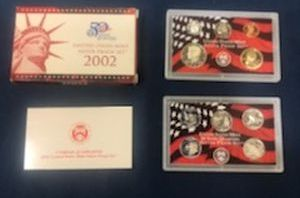 2002 Silver Proof Sets