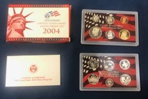 2004 Silver Proof Sets