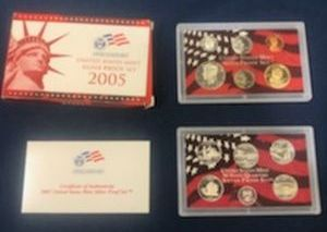 2005 Silver Proof Sets