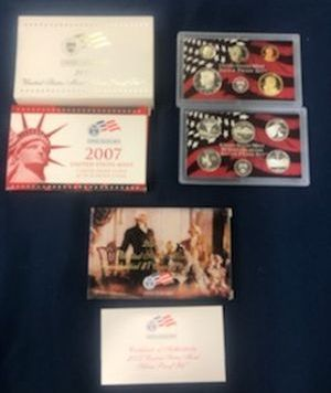 2007 Silver Proof Sets