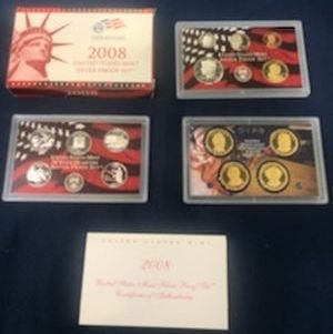 2008 Silver Proof Sets