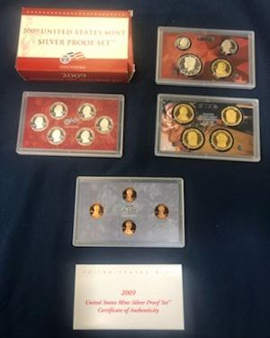 2009 Silver Proof Sets