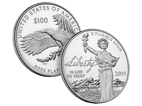 American Eagle 2019 1 Oz Platinum Coin * OUT OF STOCK *