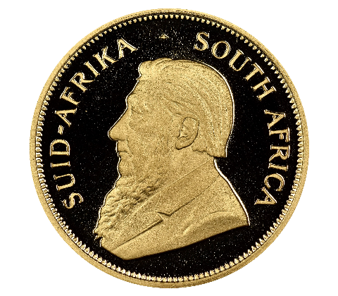 South Africa Half (1/2) Oz Krugerrand Gold Coin